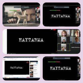 "Deportation of Crimean Tatars. Watching the movie  ""Haytarma"""