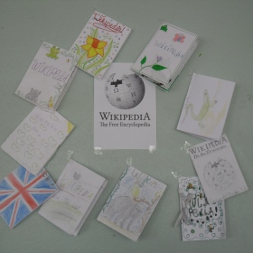 Wikipedia exhibition
