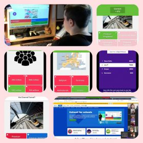 Europe Daydistntly. Quiz with the help of Kahoot.