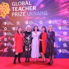 На церемонії Global Teacher Prize Ukraine 2019