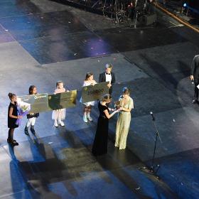 Нагородження найкращої вчительки країни Наталії Ківалової