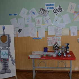 Interactive exhibition ``In the World of Robots``