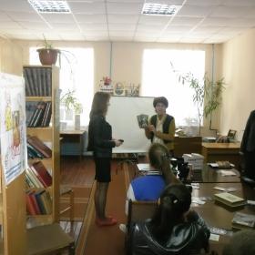 """Зустріч у бібліотеці """"Кіровоградщина читає Хемінгуея"""""""