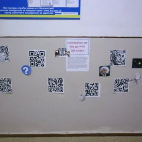 """""""Information on the Go with QR codes"""""""