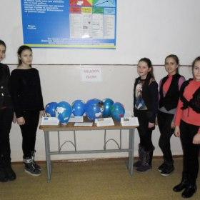 """Міні-проект """"Balloon globe"""""""