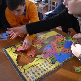 "Ukrainian Unity Day. Puzzle ""Ukraine"""